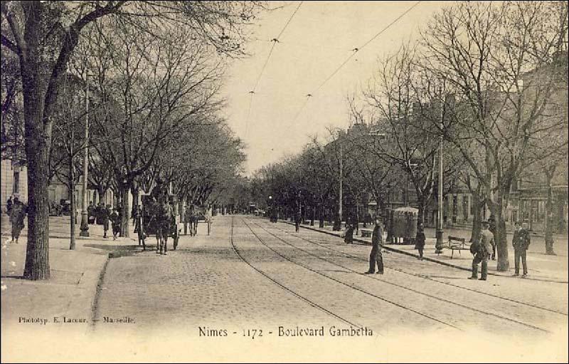 Nimes boulevard gambetta - Boulevard gambetta roubaix ...
