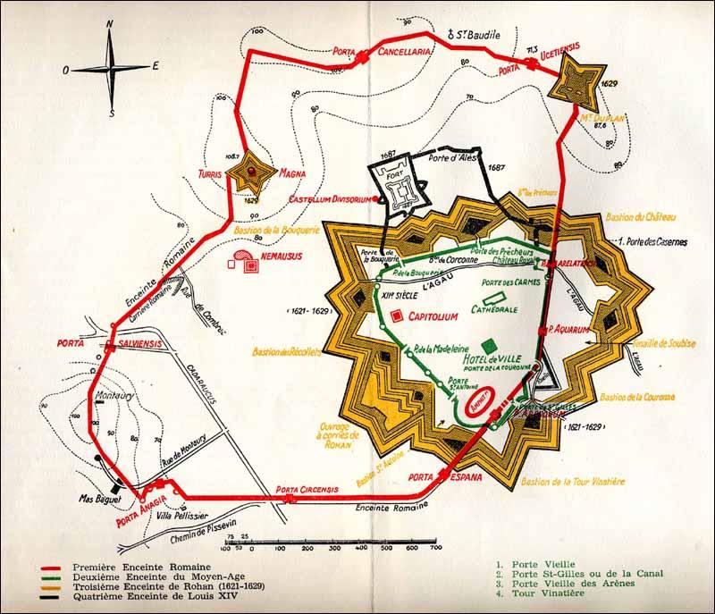 Les Anciennes Fortifications de Nîmes