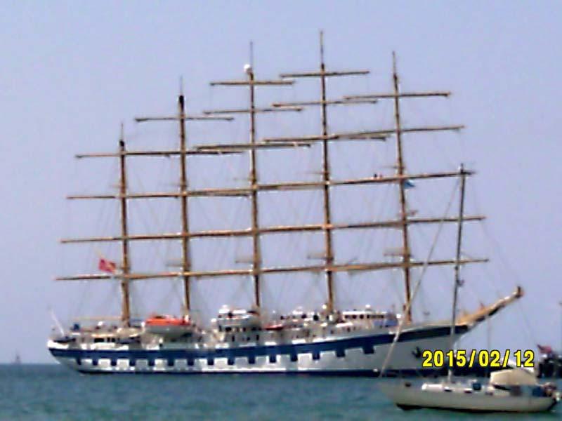 bateau 5 mats