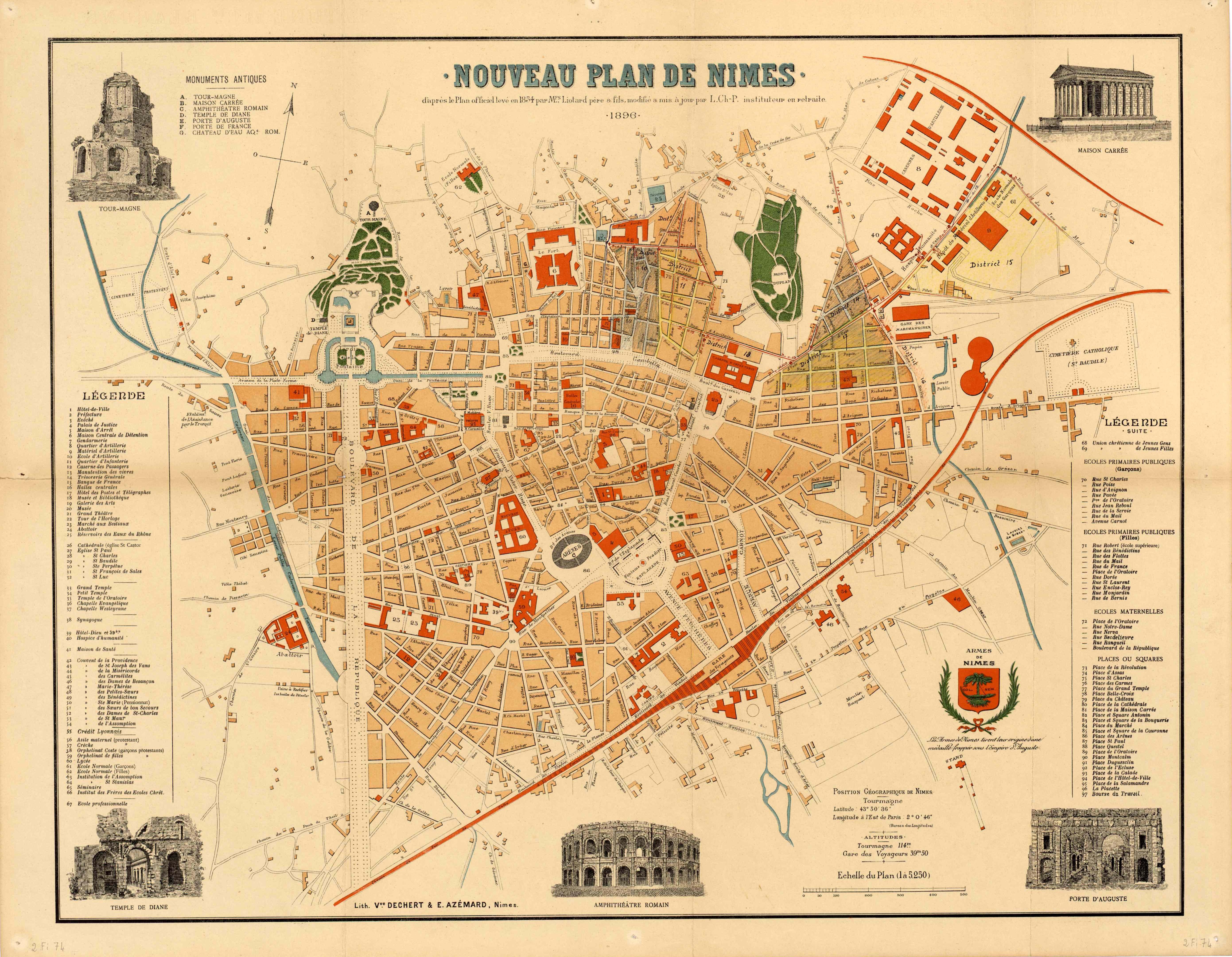 Cool plan de nmes with ma maison nimes for Ma maison nimes
