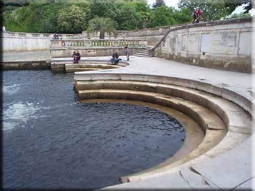 La Fontaine de Nîmes au XVIIIe siècle