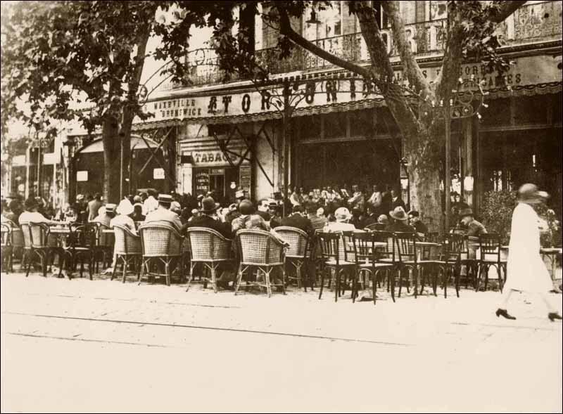 Cafe Theatre Paris Ancien